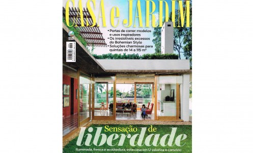 Casa e Jardim 2015 capa